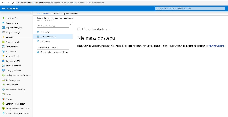Instrukcja Microsoft Azure